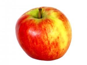 La pomme n'est pas un aliment bon pour les dents!