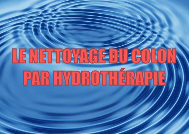 Le nettoyage du colon par hydrothérapie