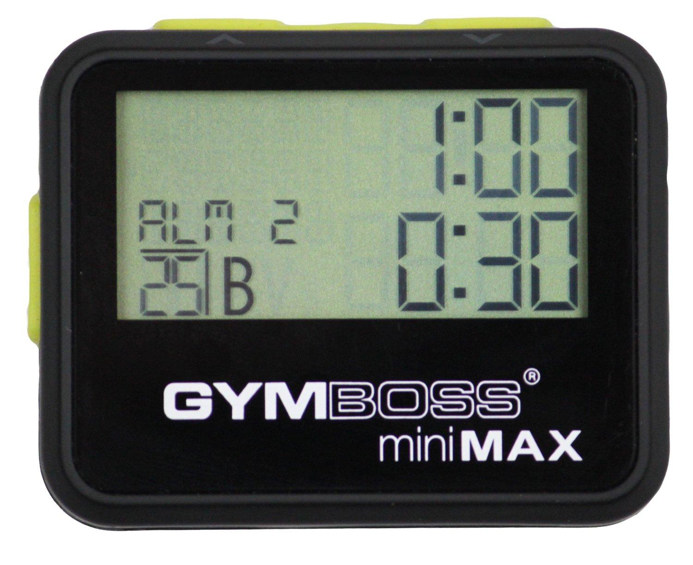 Chronomètre et minuteur d'intervalle Gymboss Minimax
