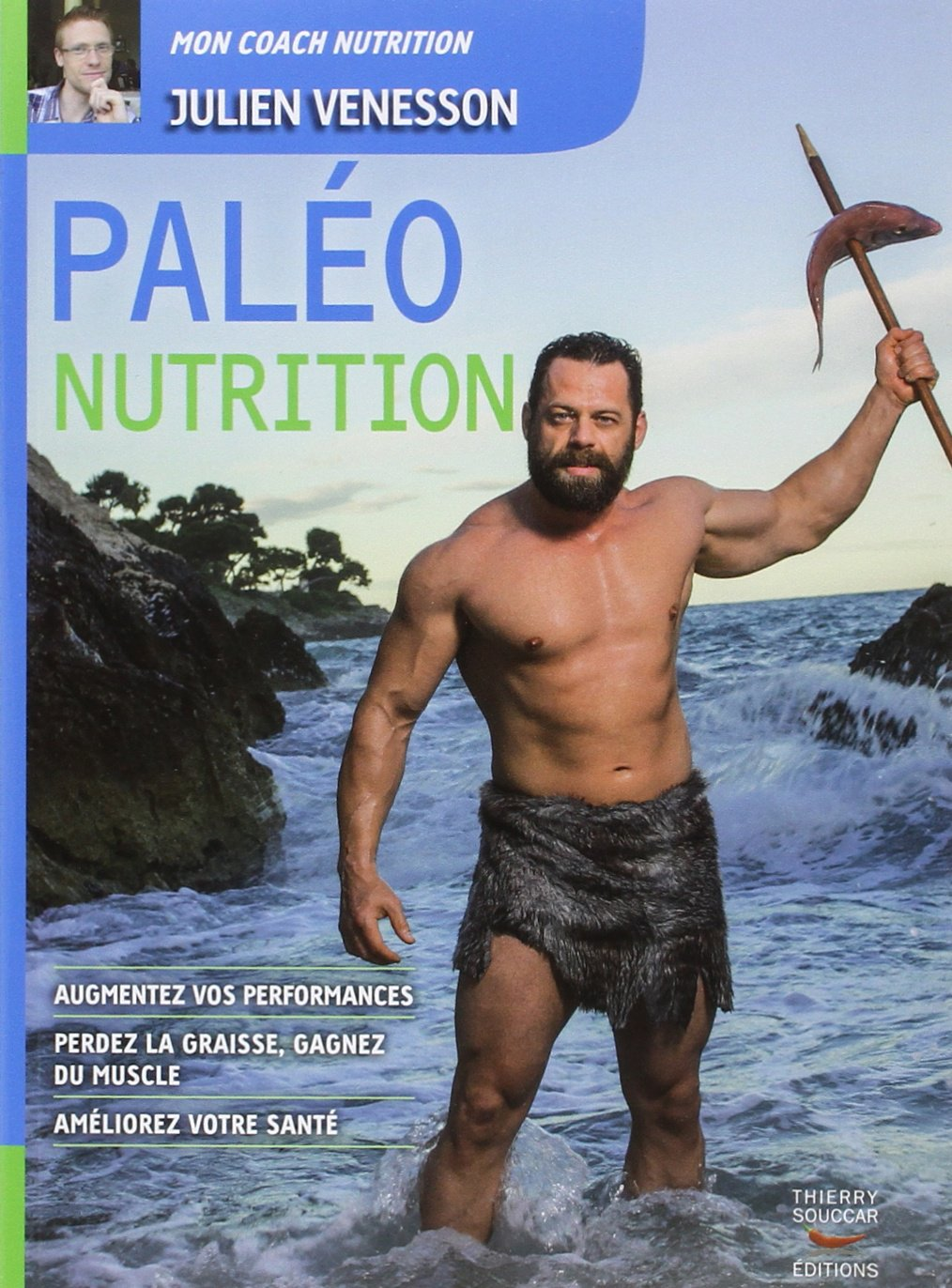 Livre «paléo nutrition» de Julien Venesson